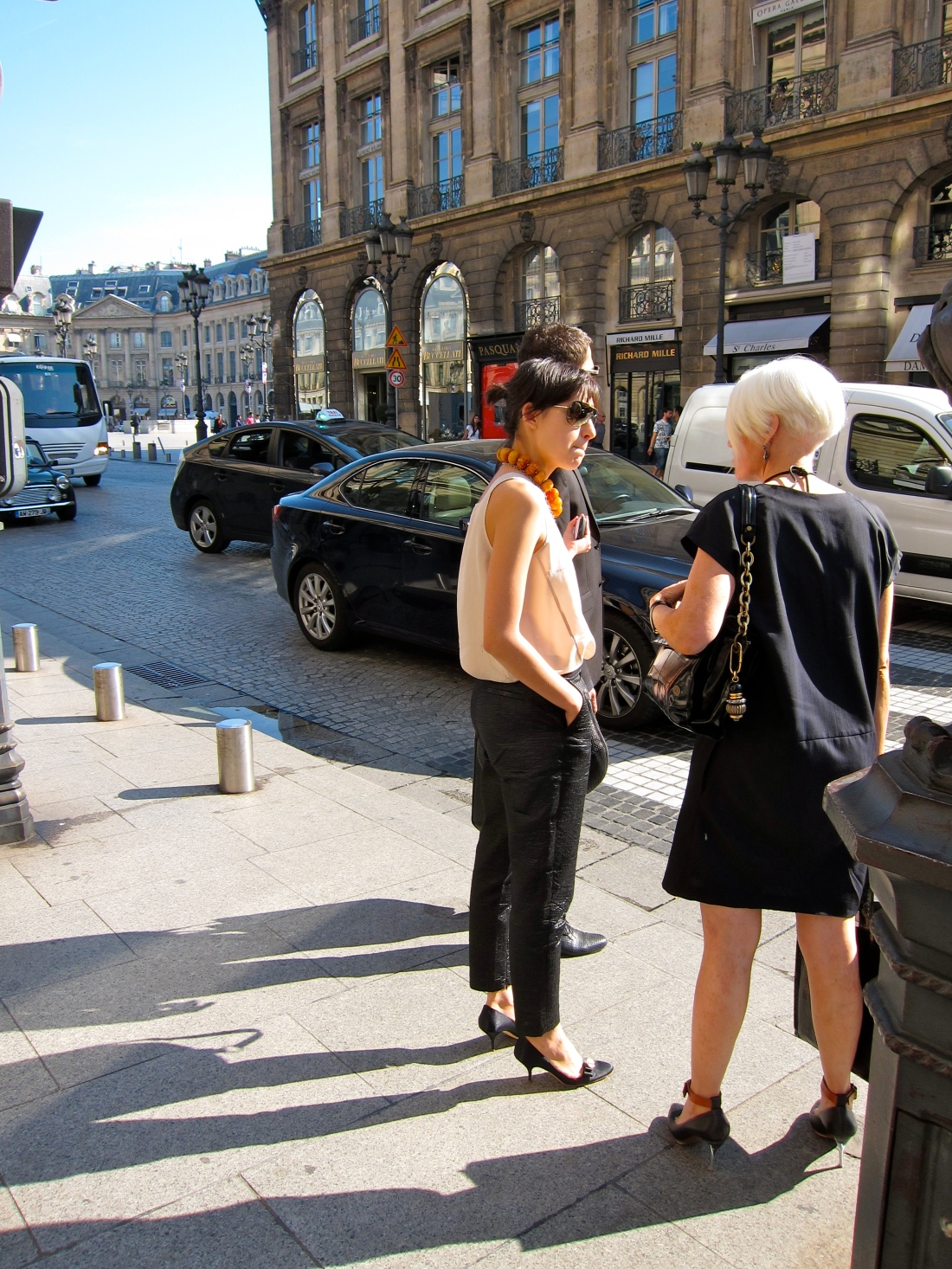 On the Street...Pl. Vendôme/Rue Saint-Honoré, Paris, France