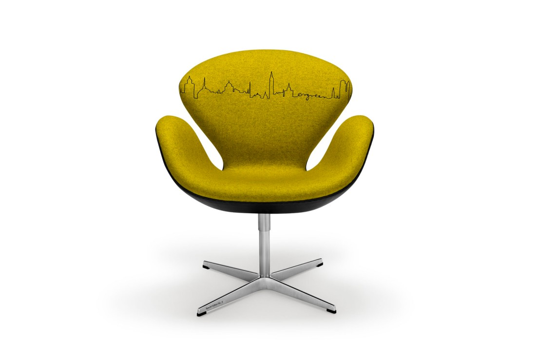 Arne Jacobsen Swan Chair Ørgreen Edition