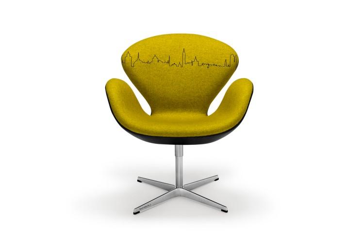 Arne Jacobsen Swan Chair Ørgreen Edition