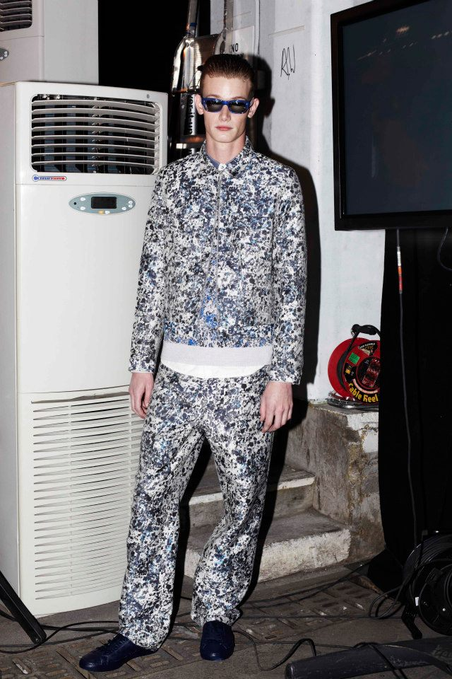 NICOLL AW13 MENS BACKSTAGE