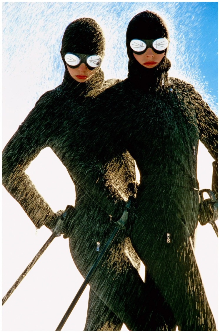 photo hans feurer bogner ski clothing 1980