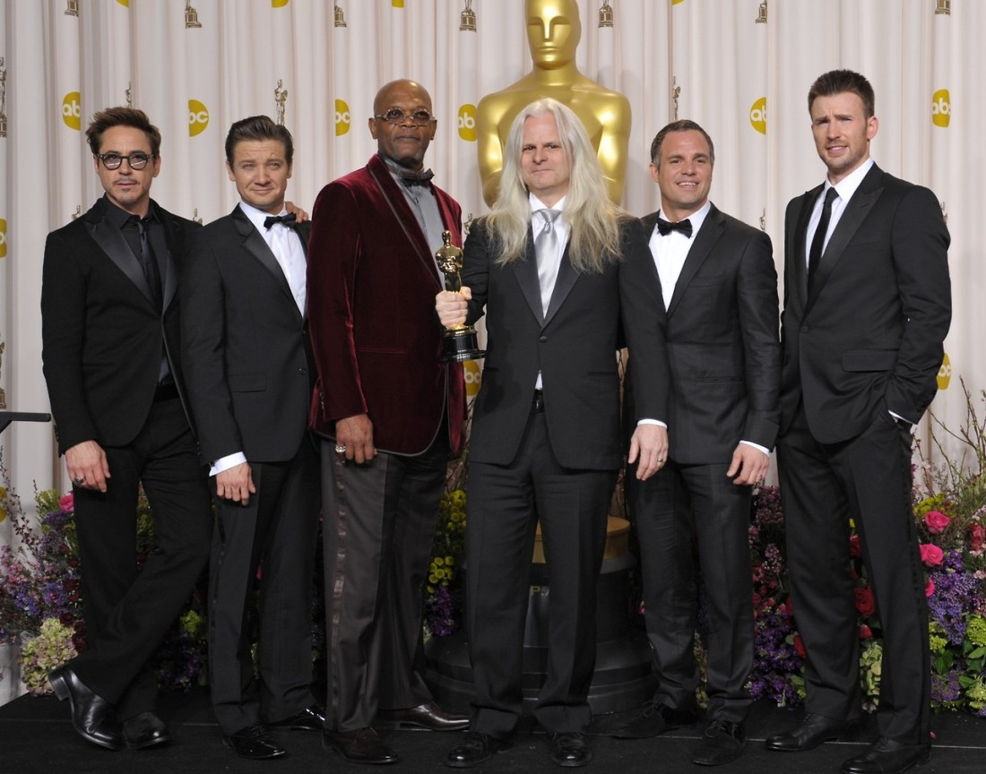 Robert Downey Jr., Jeremy Renner, Samuel L. Jackson, Mark Ruffalo, Chris Evans