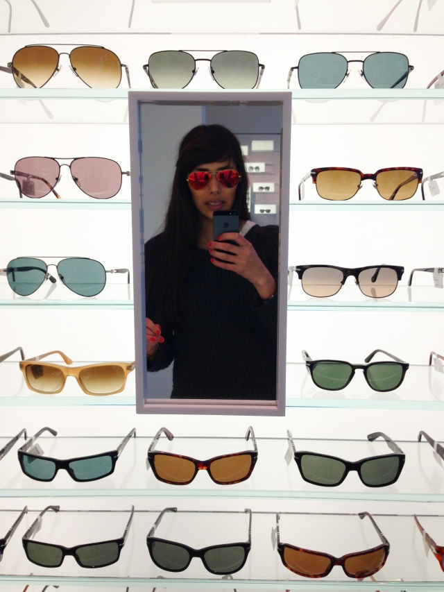 mirror lenses by Ray-Ban