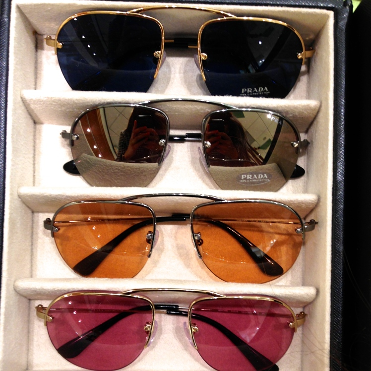 New PRADA sunglasses SS13
