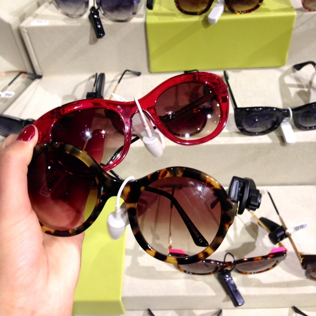 Liberty, London, Sunglasses from Thierry Lasry