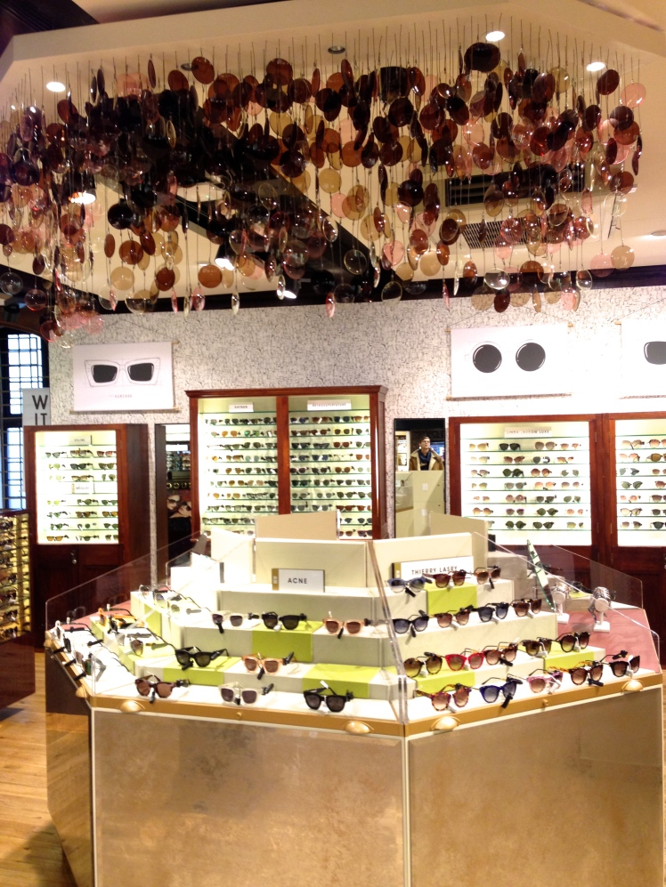 Liberty, London, Sunglass' shop