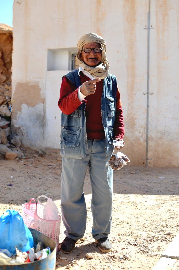 Streetstyle Tunisian man