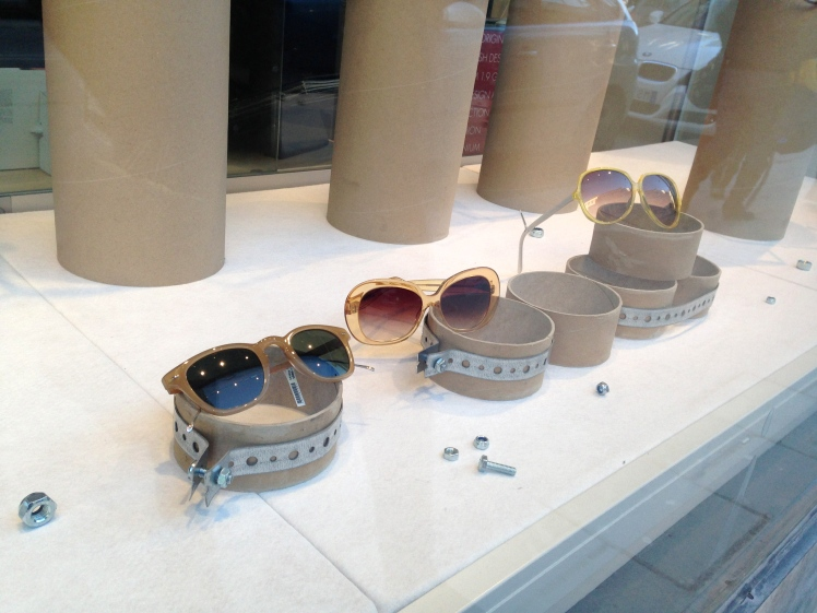 Window Display Sunglasses - Bågar & Glas Stockholm