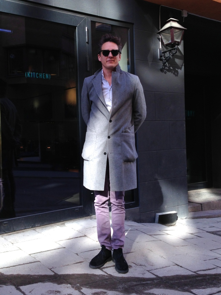 David wearing HYDE's