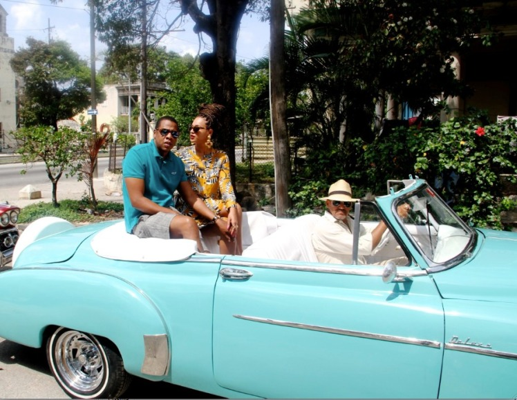 Beyoncé & Jay-Z in Cuba