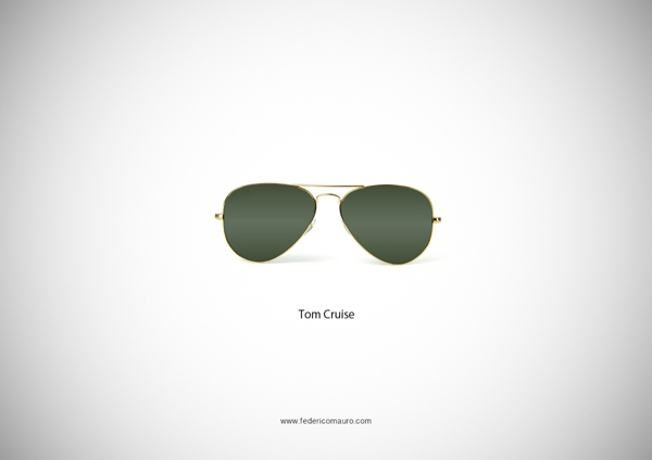 Tom Cruise Top Gun Sunglasses