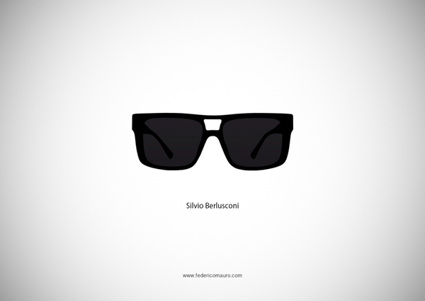 Silvio Berlusconi Sunglasses
