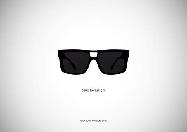 Silvio Berlusconi Sunglasses