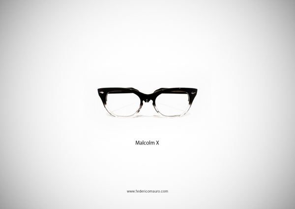 Malcolm X Glasses