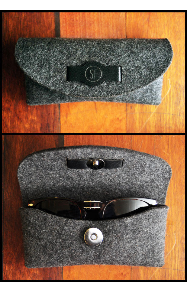 Sustainable eyewear case