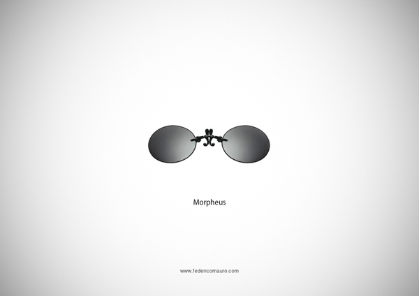 Morpheus The Matrix Glasses