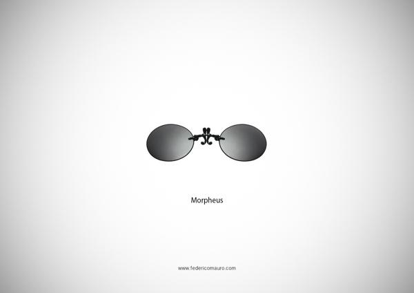 Morpheus The Matrix Glasses