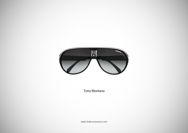 Tony Montana Scarface Sunglasses