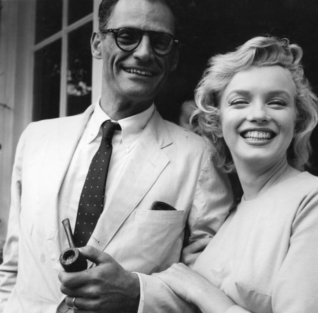 Arthur Miller & Marilyn Monroe
