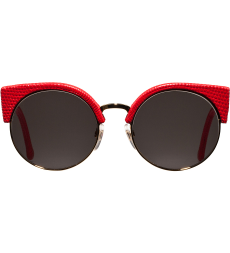 SUPER, by RETROSUPERFUTURE Red Lizard Illaria Sunglasses