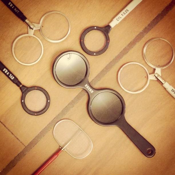 optometrist instruments