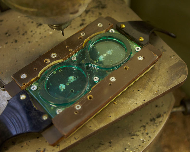 zanzan glasses workshop