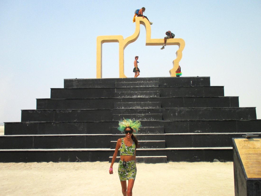 Babba Canales at Burning man 2013