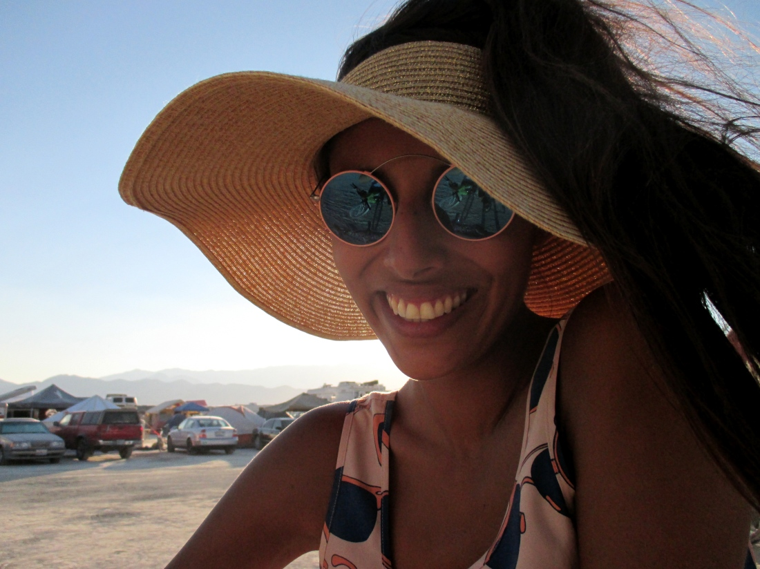 RVS eyewear / Babba Canales at burning man 2013