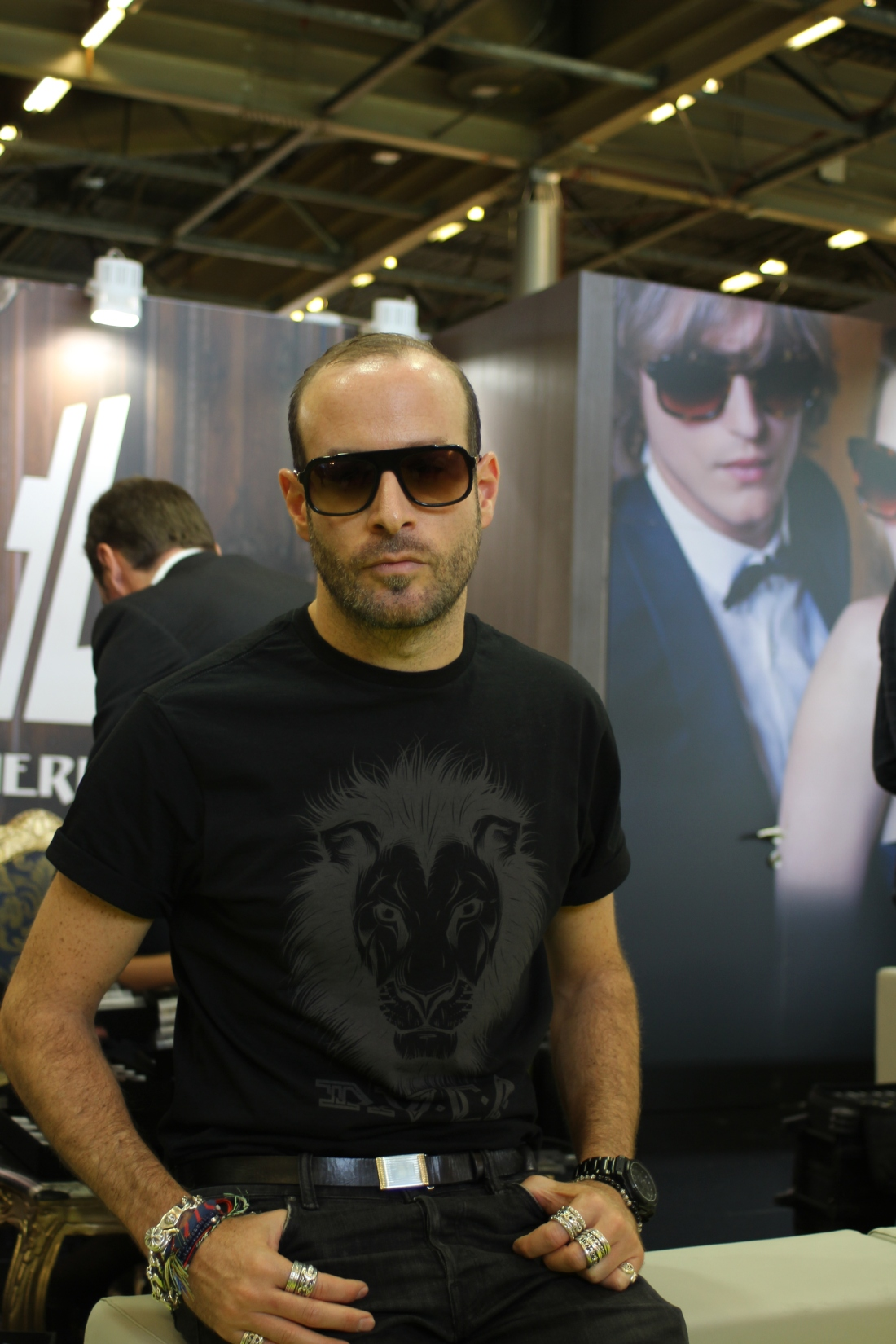 French eyewear designer Thierry Lasry