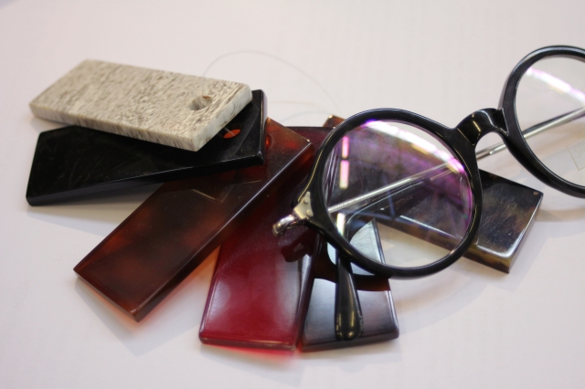 Algha Savile Row Acetate Round Glasses