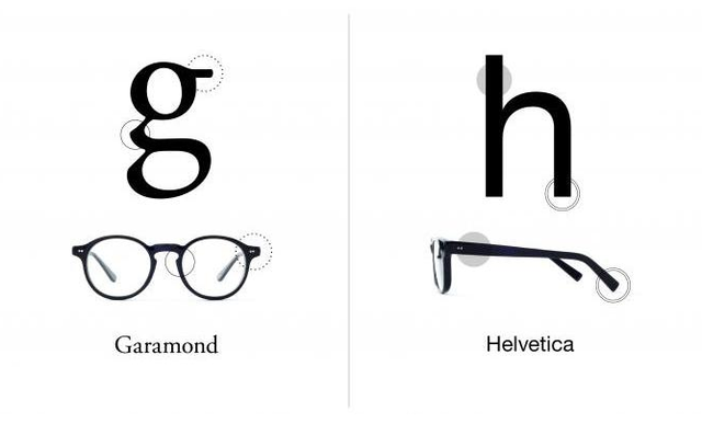 Type Glasses Typography