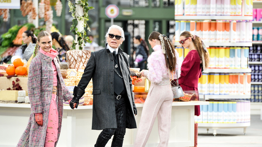 Chanel Show, Autumn Winter 2014, Paris Fashion Week, France - 04 Mar 2014