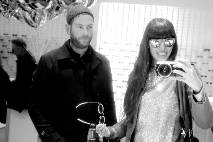 Babba Canales wearing MYKITA + Martin Margiela